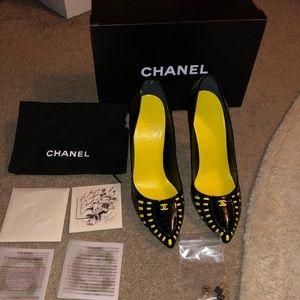 Chanel Heels Karl Lagerfeld edition